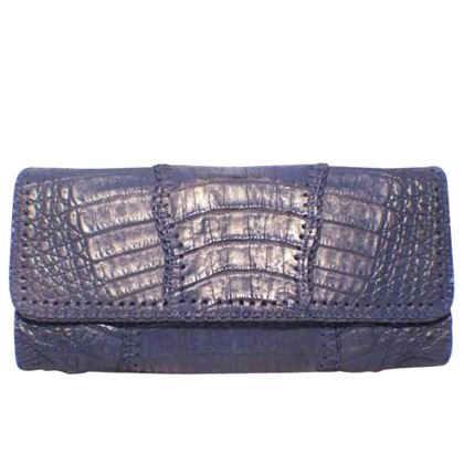 carlos-falchi-blue-crocodile-patchwork-clutch-2