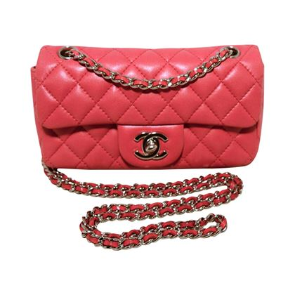 chanel-dark-pink-quilted-classic-extra-mini-flap-shoulder-bag-2