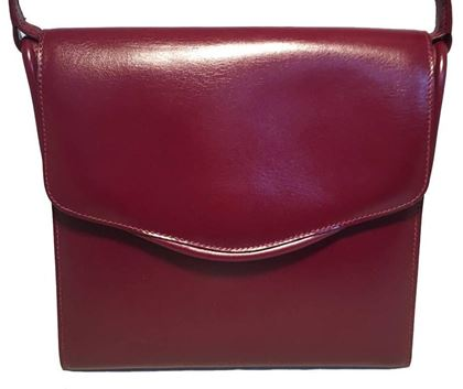 hermes-vintage-dark-red-box-calf-shoulder-bag-2