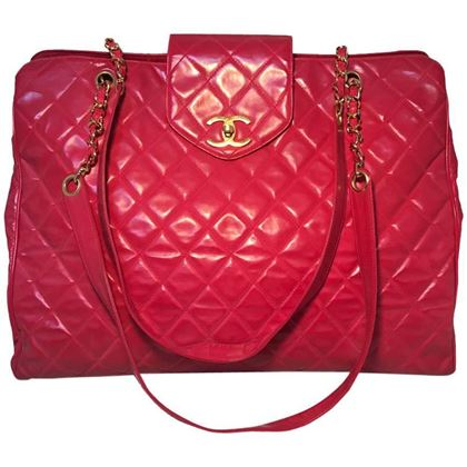 chanel-red-quilted-pvc-model-overnight-tote-travel-bag-2