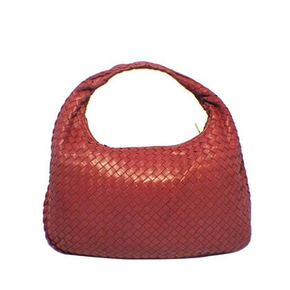 bottega-veneta-classic-red-woven-lambskin-leather-shoulder-bag-3