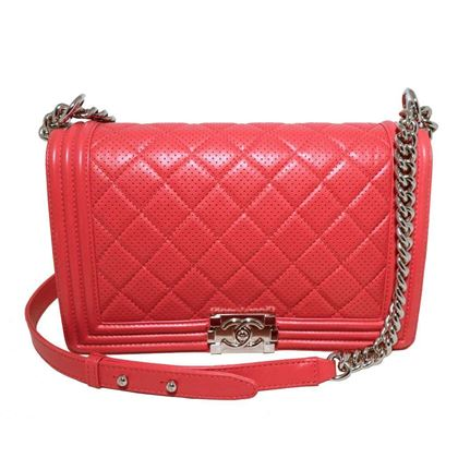 chanel-cherry-red-perforated-leather-classic-flap-boy-bag-2