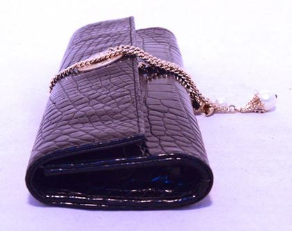 chanel-black-alligator-clutch-with-chain-wrap-and-pearl-detail-2