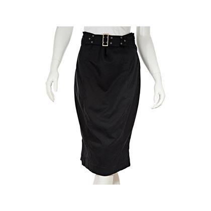 black-gucci-belted-cotton-pencil-skirt-8-2