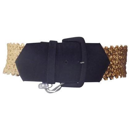 emanuel-ungaro-black-gold-sequins-belt-2