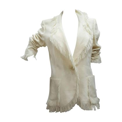 2000s-emanuel-ungaro-linen-cream-jacket-with-fringes-2