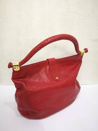 jimmy-choo-red-leather-gold-hardware-hobo-shoulder-bag-3