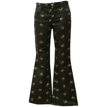 1980s-moschino-jeans-green-flowers-embellished-pants-2