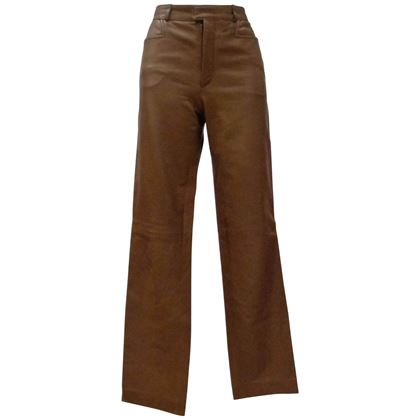 gucci-by-tom-ford-brown-leather-trousers-2
