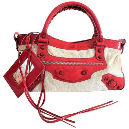 balenciaga-first-shoulder-bag-in-jute-and-red-leather-inserts