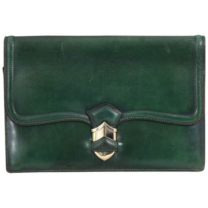 vintage-40s-hermes-lady-clutch-in-green-leather