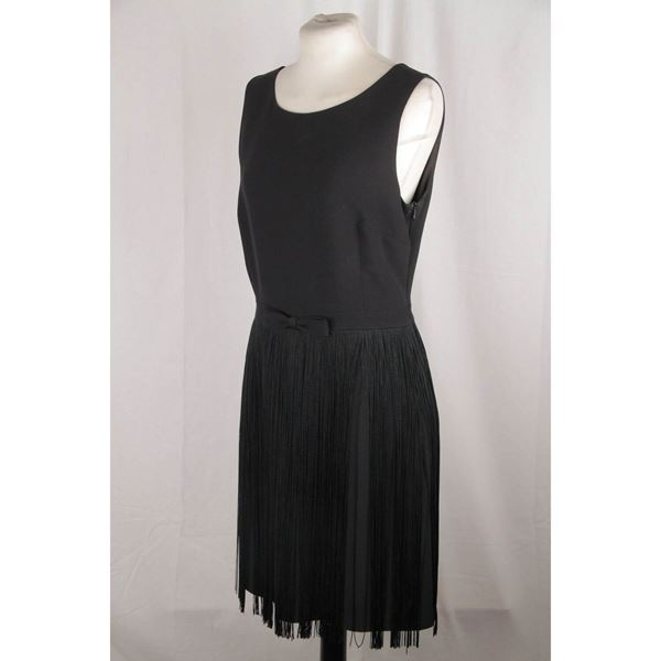moschino-cheap-chic-little-black-fringed-dress-size-44