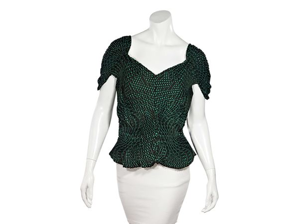 green-brown-issey-miyake-pleated-blouse-2-green