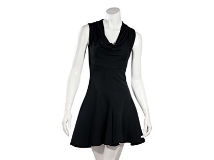 black-cushnie-et-ochs-fit-and-flare-dress-2-black