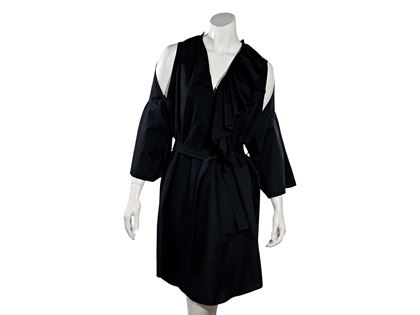 black-tome-cold-shoulder-cotton-dress-l-black
