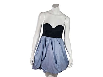 black-blue-miu-miu-strapless-mini-bubble-dress-2-blue