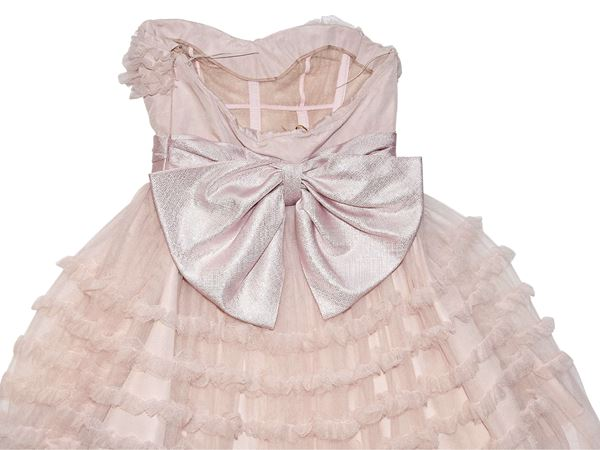baby-pink-saint-laurent-ruffled-tulle-strapless-dress-2-baby-pink