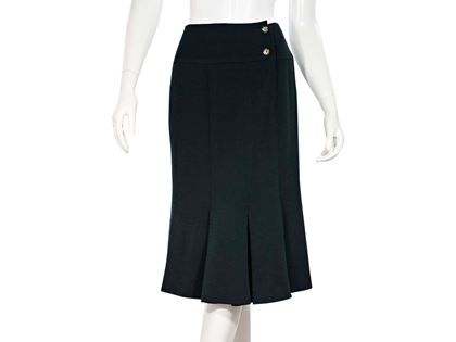 forest-green-chanel-pleated-hem-skirt-6-forest-green