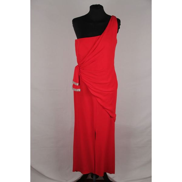 valentino-red-chiffon-one-shoulder-evening-gown-dress-gown