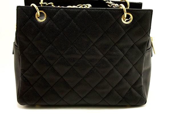 chanel-caviar-chain-shoulder-bag-shopping-tote-black-quilted-4