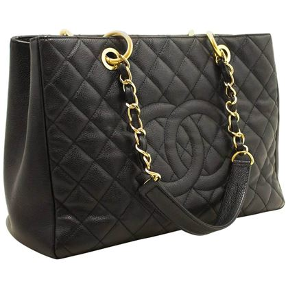chanel-caviar-gst-13-grand-shopping-tote-chain-shoulder-bag-black-6