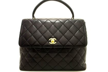 chanel-caviar-kelly-bag-handbag-black-quilted-flap-leather-gold-4