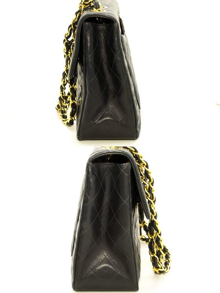 chanel-jumbo-13-maxi-255-flap-chain-shoulder-bag-black-lambskin-7