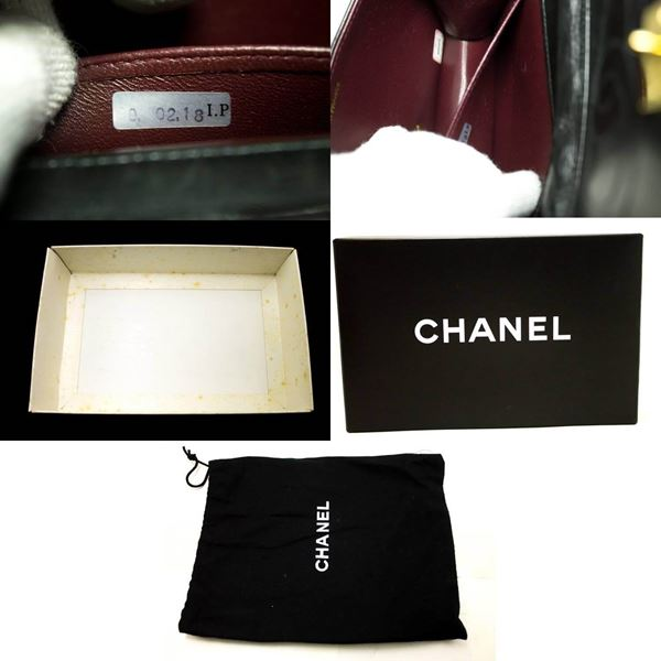 chanel-small-chain-shoulder-bag-clutch-black-quilted-flap-lambskin