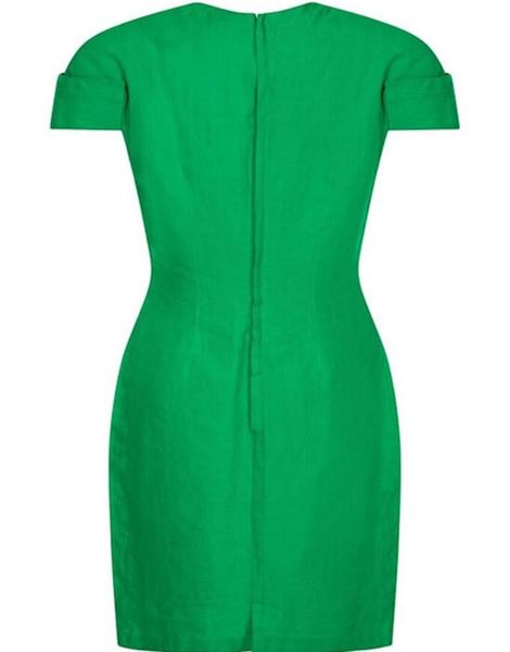 gianni-versace-1980s-emerald-green-linen-mod-dress-uk-size-10-12