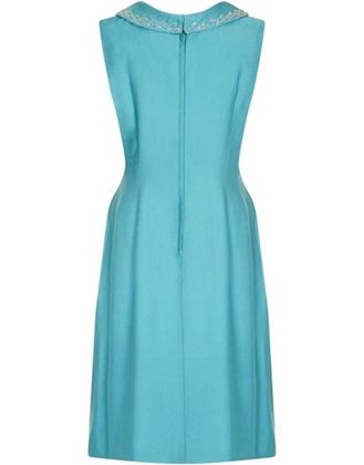 turquoise-1960s-linen-mod-dress-with-beaded-collar-uk-size-10-12