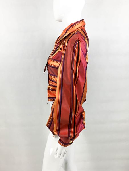 lacroix-colourful-striped-silk-blouse-with-gilt-metal-buttons-1990s-2