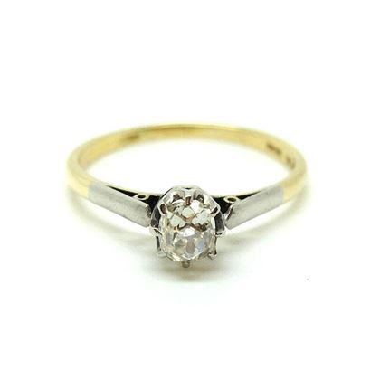 antique-victorian-18ct-platinum-solitaire-old-european-cut-diamond-gemstone-engagement-ring