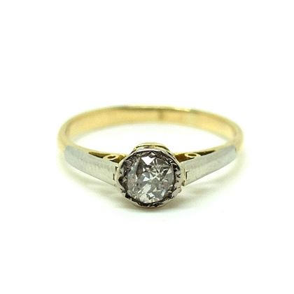 antique-victorian-33pt-solitaire-diamond-18ct-gold-ring