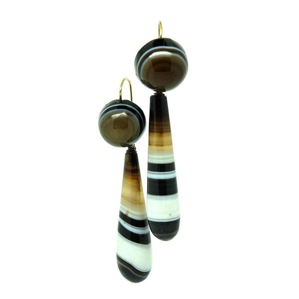 antique-victorian-banded-agate-drop-earrings