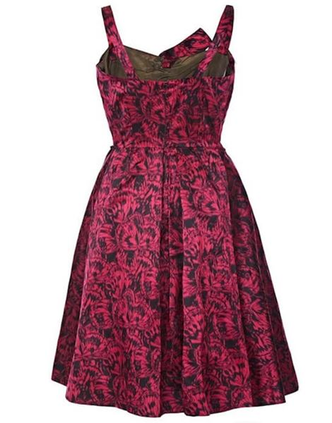 french-couture-1950s-red-silk-butterfly-print-evening-dress-with-bow-uk-size-4-6