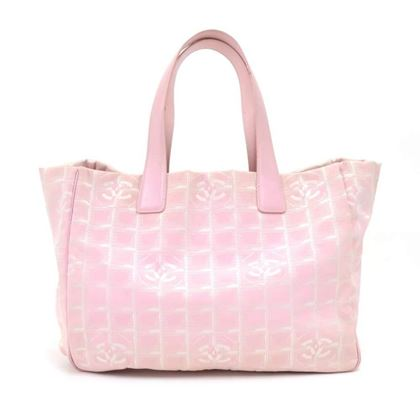 chanel-travel-line-light-pink-jacquard-nylon-large-tote-bag-3