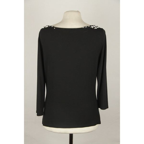 blumarine-black-jersey-long-sleeve-top-with-beads-size-42
