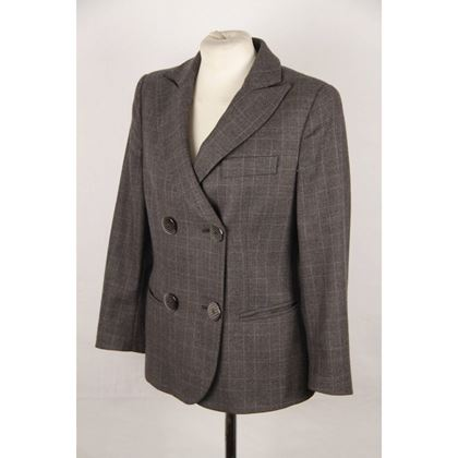 giorgio-armani-black-label-gray-checkered-cashmere-blend-blazer-size-40