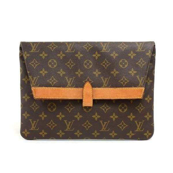 c06d33423 Vintage Louis Vuitton Pochette Pliant Monogram Canvas Envelope ...
