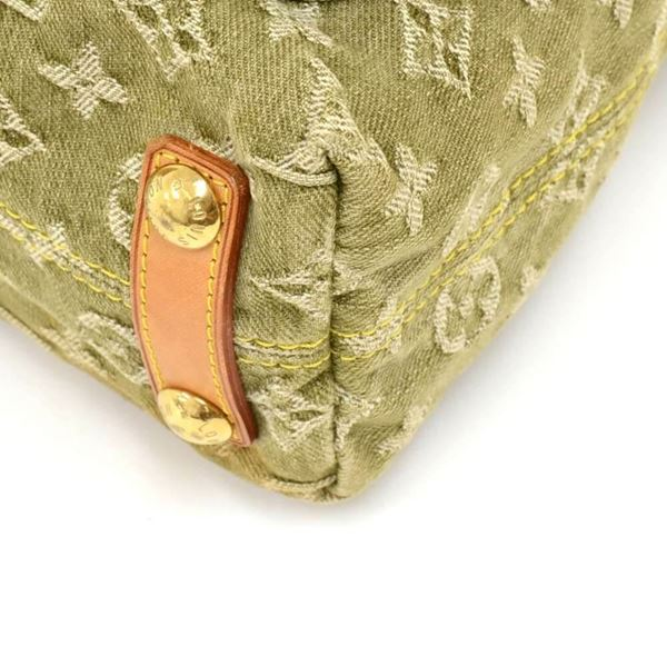 louis-vuitton-baggy-pm-green-monogram-denim-shoulder-bag-2006-limited