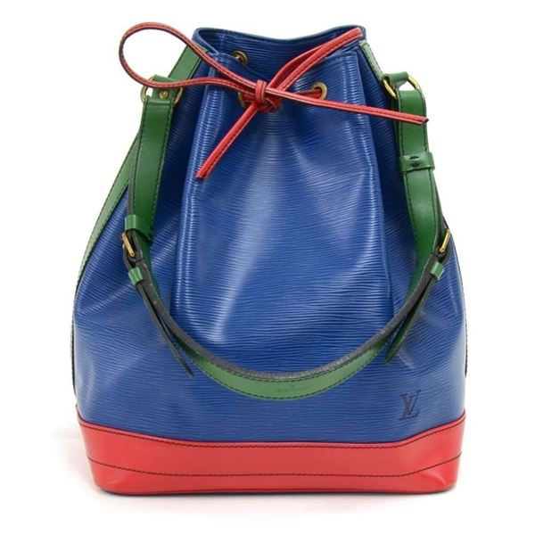 vintage-louis-vuitton-noe-large-tricolor-blue-green-red-epi-leather-shoulder-bag