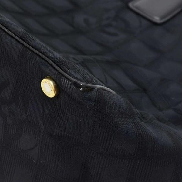 chanel-travel-line-black-jacquard-nylon-tote-bag-2