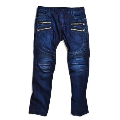 balmain-double-zipper-dark-blue-moto-jeans