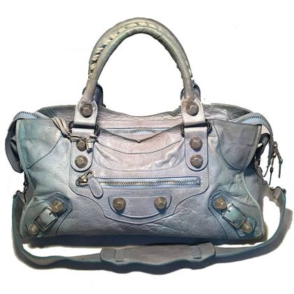 balenciaga-light-blue-leather-classic-city-bag