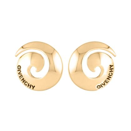 1980s-vintage-givenchy-swirl-round-clip-on-earrings