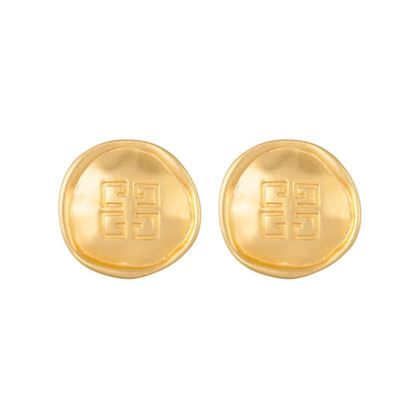 1980s-vintage-givenchy-logo-earrings