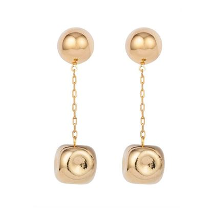 1980s-vintage-givenchy-golden-drop-clip-on-earrings