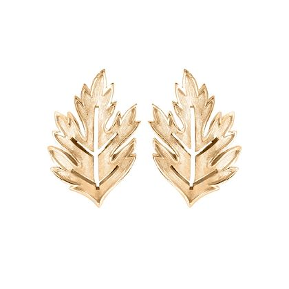 1960s-vintage-trifari-brushed-leaf-earrings-2