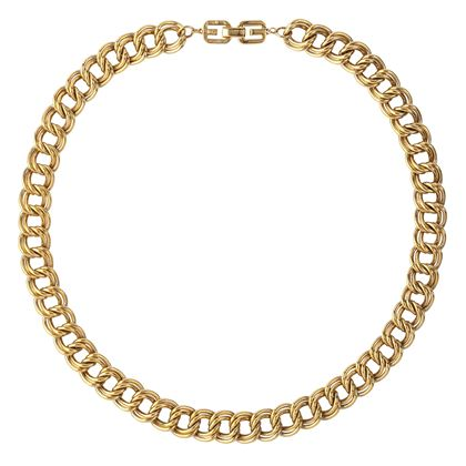 1980s-vintage-givenchy-double-chain-link-necklace-2