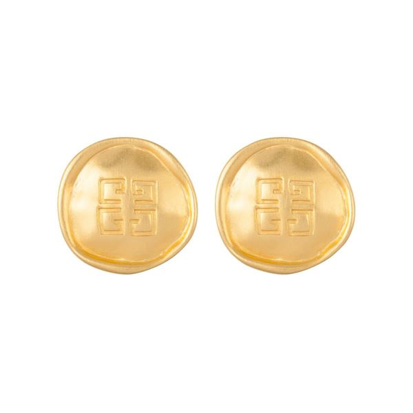 1980s-vintage-givenchy-logo-earrings-2